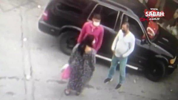 İzmir 25 Bin TL'lik kapkaç anı saniye saniye güvenlik kamerasında | Video