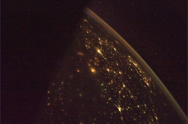 Uzaydan Dünya'ya farklı bir bakış