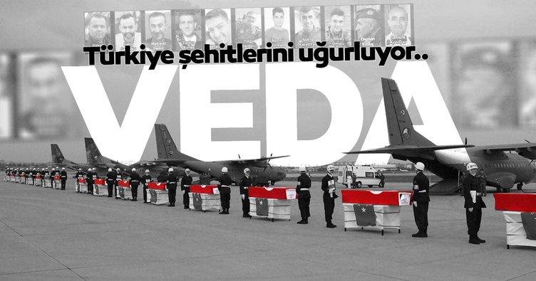 Son dakika | Türkiye şehitlerini uğurluyor - Canlı