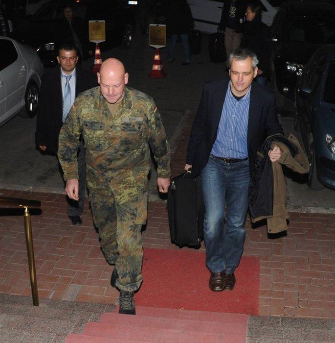 Türkiye'deki patriot merkezine Alman misafir