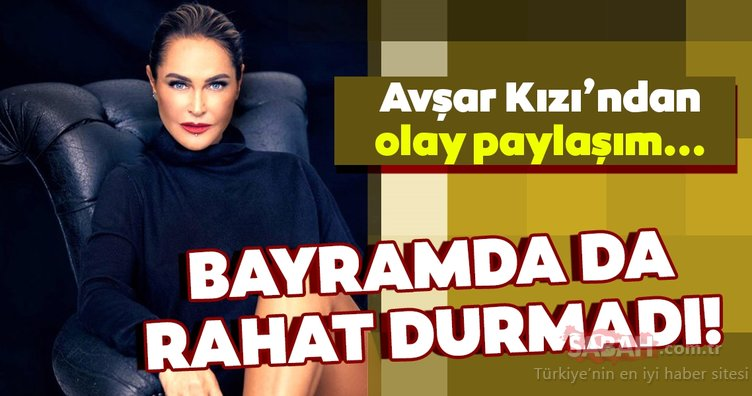 Hülya Avşar bayramda da yaptı yapacağını... Hülya Avşar'ın bornozlu paylaşımı olay yarattı!