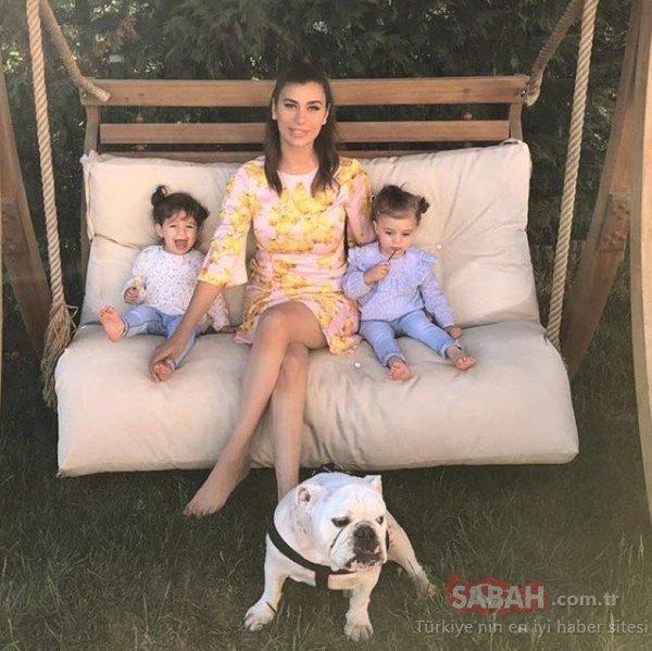 Tescilli güzel Azra Akın oğlu Demir'in ilk adımlarını paylaştı! Azra Akın ve oğlu Demir'in benzerlikleri dikkatlerden kaçmadı...