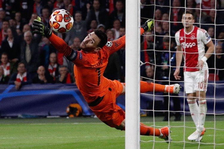 Ajax - Tottenham maçından kareler