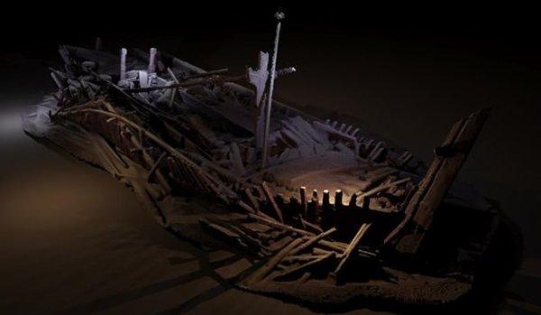 Karadeniz'in dibinde bozulmamış 40 Osmanlı ve Bizans gemisi bulundu