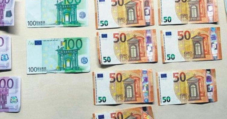3 bin euro otoyola uçtu