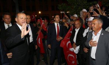 Cumhurbaşkanı Recep Tayyip Erdoğan, Louisville'de