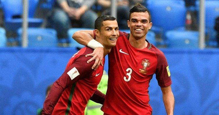 Portekiz lider bitirdi