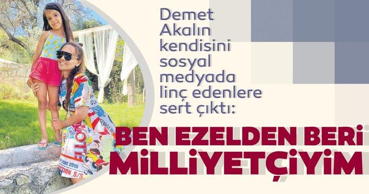 Demet Akalın: Kazancımı Mehmetçik ve hasta bebeklerle paylaşıyorum