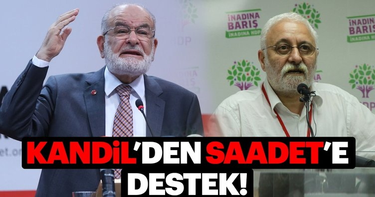 HDP'den Saadet Partisi'nin adayına destek!
