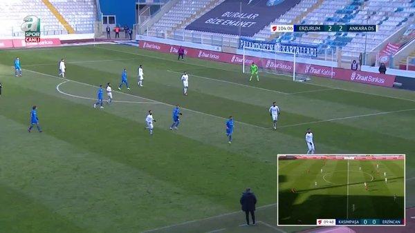 GOL   BB Erzurumspor 3-2 Ankara Demirspor