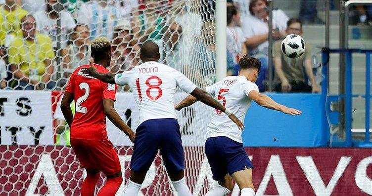İngiltere - Panama maçından kareler