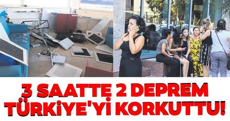 Türkiye Denizli depremi ve İzmir depremiyle sarsıldı