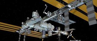 Uluslararası Uzay İstasyonu'na ulaştı