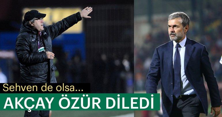 Mustafa Reşit Akçay, Aykut Kocaman'dan özür diledi