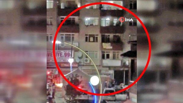 Son dakika haberi: Sakarya'da dehşet! 4 kattan aşağıya atlayan kadın kamerada | Video