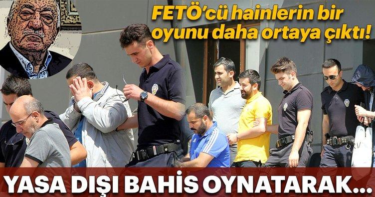 Yasa dışı bahisten elde edilen haksız kazanç FETÖ'ye aktarılmış