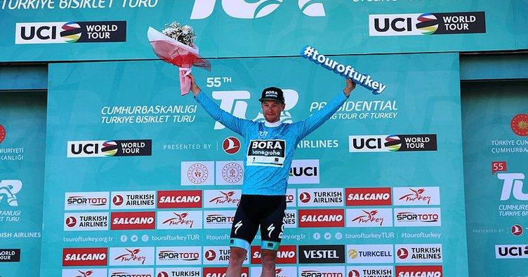 Cumhurbaşkanlığı Türkiye Bisiklet Turu 2. etabında da kazanan değişmedi
