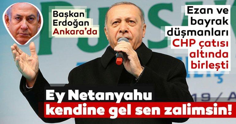 Başkan Erdoğan'dan Pursaklar'da önemli açıklamalar