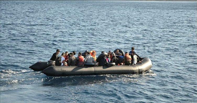 Didim açıklarında 40 kaçak göçmen yakalandı