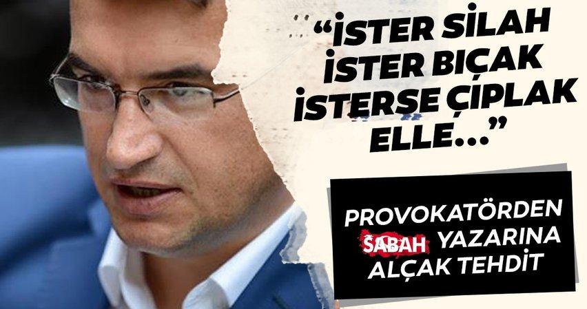 Son dakika: Metin Gürcan, Sabah Gazetesi yazarı Hasan Basri Yalçın'a tehditler yağdırdı