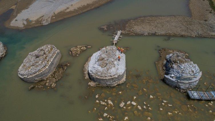 Perpıra Köprüsü yeniden ayağa kaldırılıyor