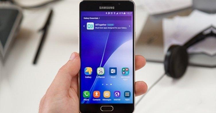 Galaxy A5 (2016) için Android 7.0 Türkiye'de!