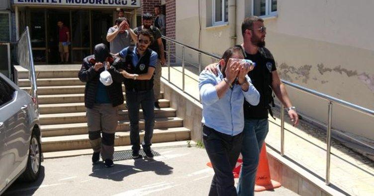 Bursa'da 54 kilo esrar ele geçirildi