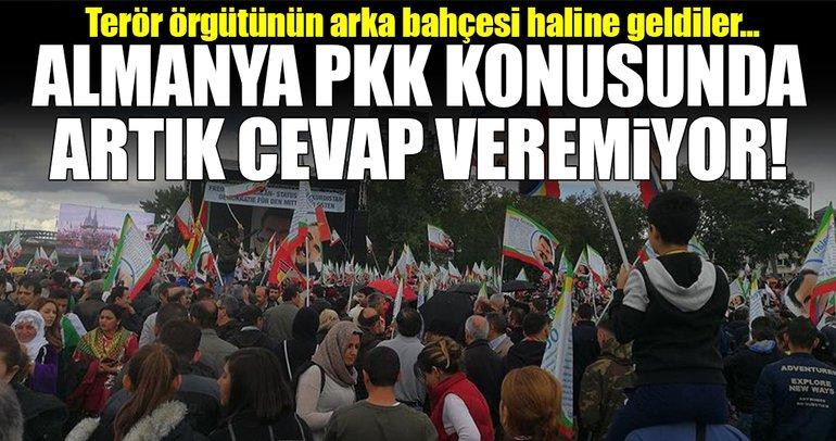 Almanya, PKK konusunda tatmin edici cevap veremiyor!