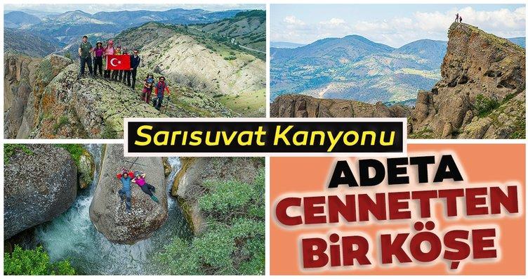 Sivas'taki doğal güzelliklerimizden Sarısuvat...