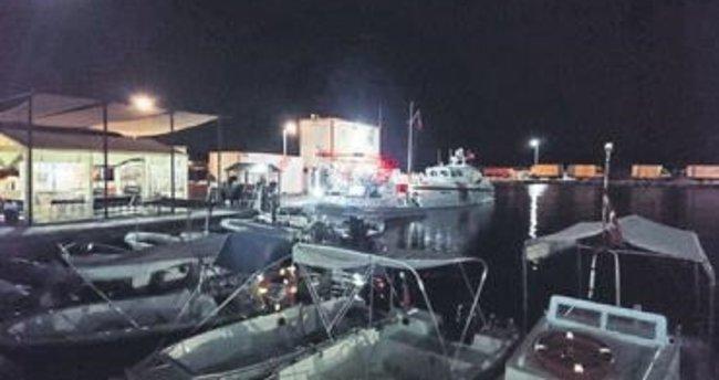 Tekneler çarpıştı 1 kişi kayboldu
