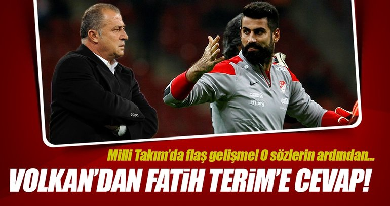 Volkan Demirel'den Fatih Terim'e cevap!
