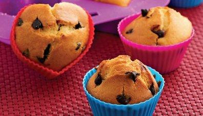 Çikolatalı Mini Kekler
