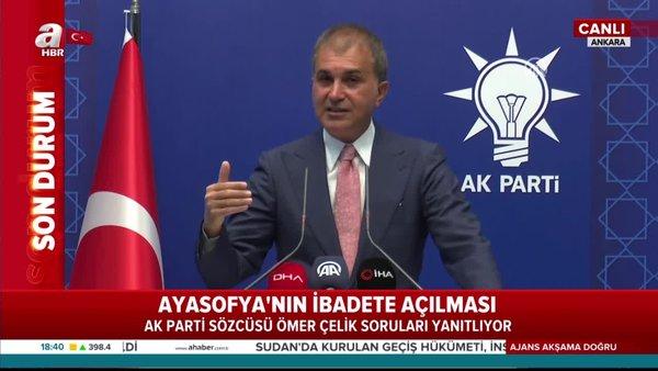 MKYK sonrası, AK Parti sözcüsü Ömer Çelik'ten önemli açıklamalar | Video