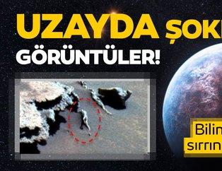 Uzayda şoke eden görüntüler! Sırrını çözmeyi başaramadılar...