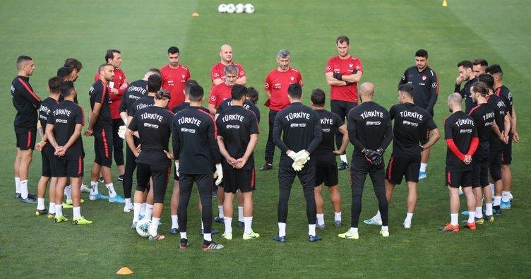 İşte Türkiye'nin Andorra maçı ilk 11'i