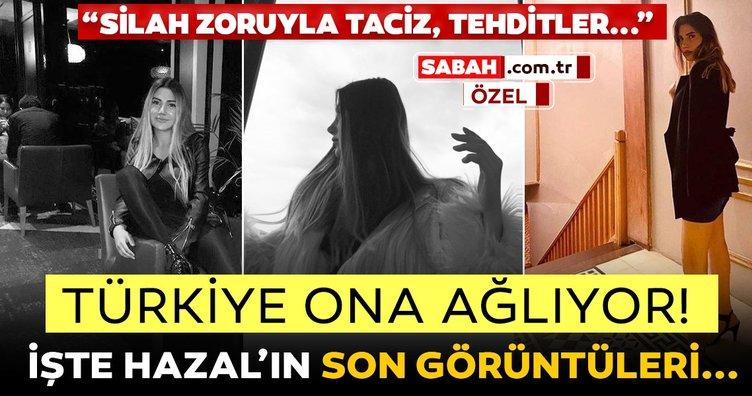 Son dakika haberi: Platonik aşığı Mehmet Ali Akış tarafından öldürülen Hazal Tektaş'ın son görüntüleri ortaya çıktı! Silah zoruyla...