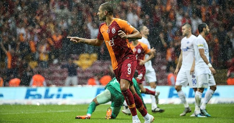 Galatasaray'dan dört dörtlük zafer