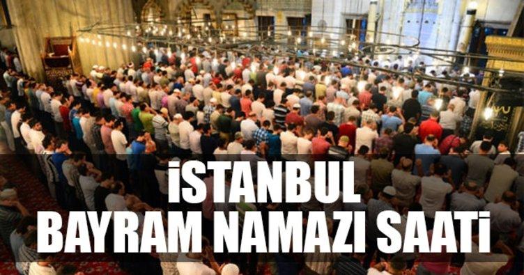 İstanbul Bayram Namazı saat kaçta? İstanbul'da bayram namazı saat kaçta kılınacak?