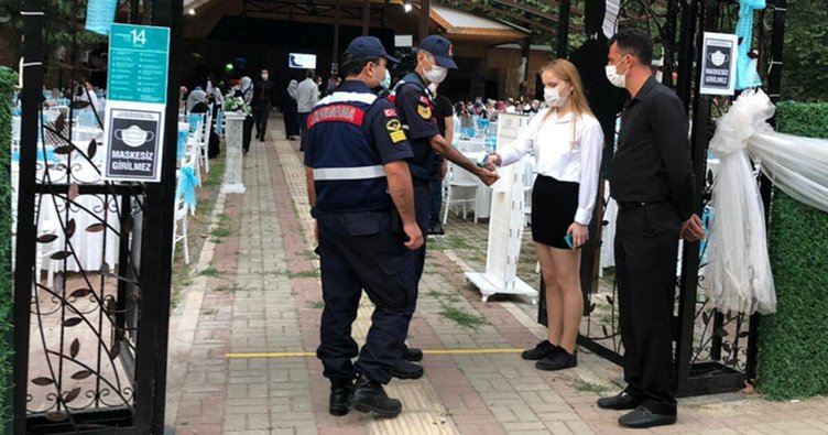 Bursa'da koronavirüs denetimi! Uymayanlara ceza kesildi
