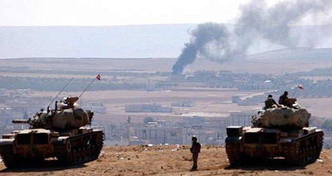 DEAŞ Azez bölgesinde ateş altına alındı
