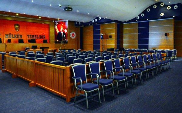 Suikast timinin yargılanacağı salon hazır