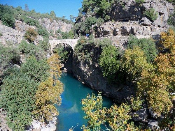 Türkiye'deki baş döndüren kanyonlar
