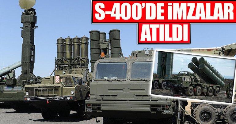 S-400'de imzalar atıldı