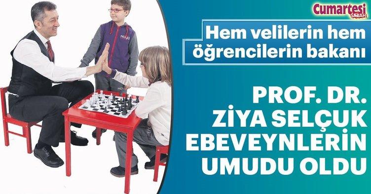 Hem velilerin hem öğrencilerin bakanı Prof. Dr. Ziya Selçuk