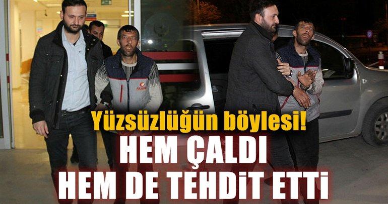 Konya'da evin bahçesinden 7 tavuk çalan şüpheli 20 dakikada yakalandı