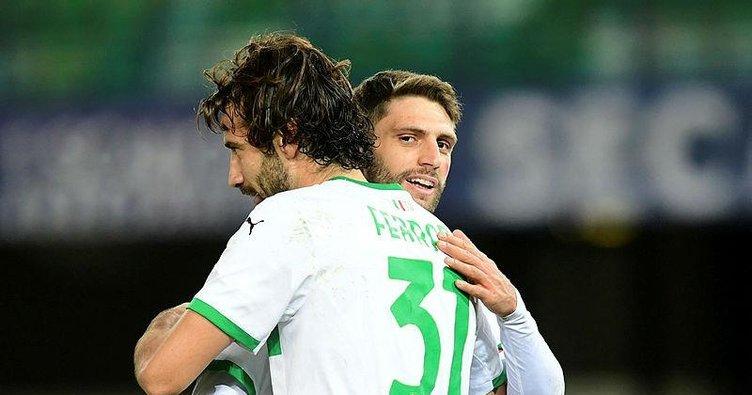 Sassuolo liderliğe yükseldi! Verona 0-2 Sassuolo
