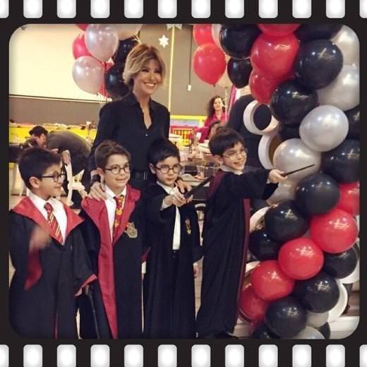 Gülben Ergen ile Mustafa Erdoğan oğulları için bir arada