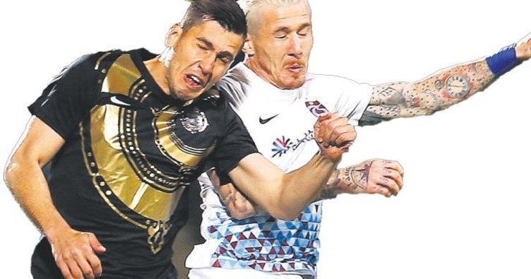 Trabzonspor Osmanlıspor'u yıkamadı
