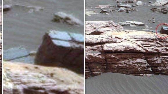 Mars'taki esrarengiz objeler kafaları karıştırdı!