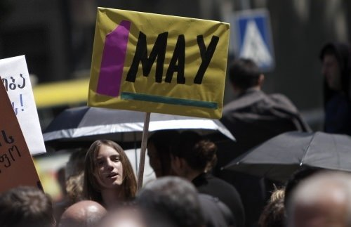 Dünyadan 1 Mayıs kareleri